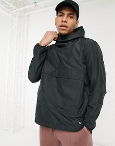 Анорак с капюшоном и карманом спереди Herschel Supply Co-Черный цвет