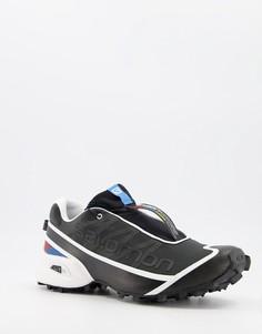Черные кроссовки Salomon Streetcross-Черный цвет
