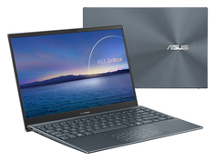 Ноутбук ASUS Zenbook UX435EA-A5006T Grey 90NB0RS1-M01610 (Intel Core i5-1135G7 2.4GHz/8192Mb/512Gb SSD/Intel Iris Xe graphics/Wi-Fi/Bluetooth/14.0/1920x1080/Windows 10)