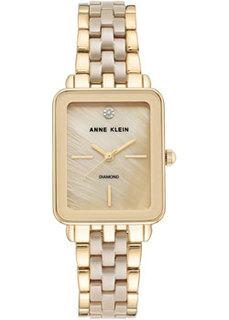 fashion наручные женские часы Anne Klein 3668TNGB. Коллекция Diamond