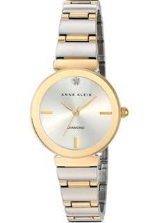 fashion наручные женские часы Anne Klein 2435SVTT. Коллекция Diamond