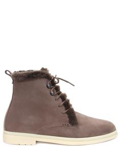 Ботинки замшевые Ilvi Walk на меху Loro Piana