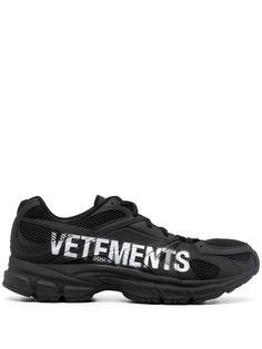 VETEMENTS кроссовки с логотипом