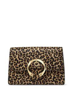 Jimmy Choo сумка через плечо Madeline с леопардовым принтом