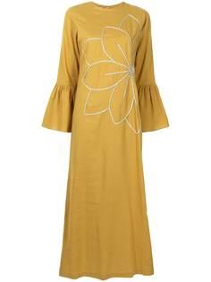 Bambah платье Camellia с цветочной вышивкой