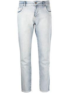 Emporio Armani укороченные джинсы кроя слим