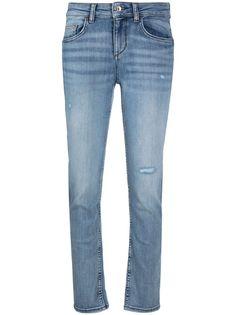 LIU JO джинсы скинни средней посадки