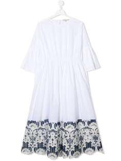 ELIE SAAB JUNIOR платье с кружевом
