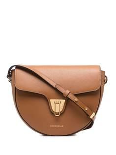 Coccinelle сумка через плечо из зернистой кожи