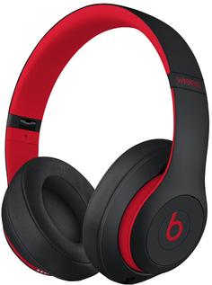 Наушники Beats Studio3 Wireless (черно-красный)