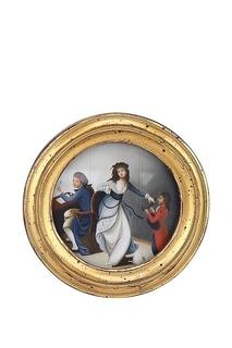 Картина в раме, масло ГЛАСАР