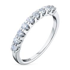 Кольцо из белого золота с бриллиантом э0901кц02185300 ЭПЛ Якутские Бриллианты
