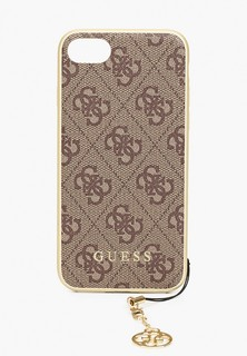 Чехол для телефона Guess 7 / 8 / SE 2020, 4G Charms collection Hard Brown
