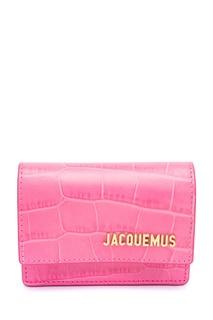 Розовая кожаная поясная сумка La Ceinture Bello Jacquemus