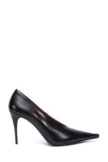 Черные кожаные туфли Acne Studios