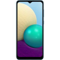 Смартфон Samsung Galaxy A02 32Гб синий