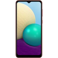 Смартфон Samsung Galaxy A02 32Гб красный