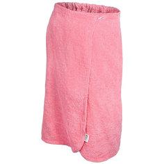 Махровая накидка для женщин Банные штучки 140х80 см розовая