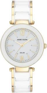 Женские часы в коллекции Ceramics Женские часы Anne Klein 3844WTGB