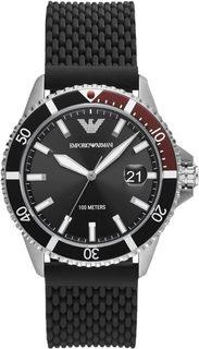 Мужские часы в коллекции Diver Мужские часы Emporio Armani AR11341