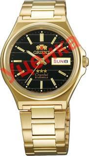 Японские мужские часы в коллекции 3 Stars Crystal 21 Jewels Мужские часы Orient AB02003B-ucenka