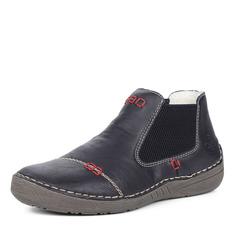 Ботинки Черные челси из экокожи Rieker