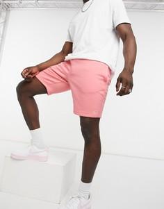 Розовые трикотажные шорты River Island-Розовый цвет