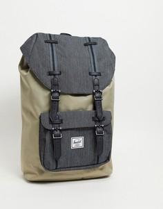 Светло-бежевый рюкзак Herschel Supply Co. Little America-Нейтральный