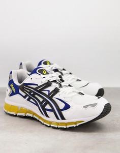Белые кроссовки Asics Gel-Kayano 5 360-Белый