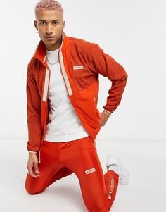 Красная легкая флисовая куртка намолнии Columbia Back Bowl-Красный