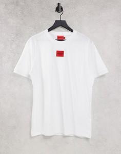 Белая футболка HUGO Diragolino212-Белый