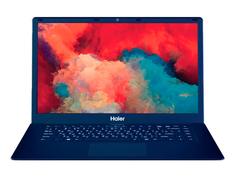 Ноутбук Haier U1500SD Blue TD0036478RU (Intel Celeron N4000 1.1 GHz/4096Mb/64Gb eMMC + 128Gb SSD/Intel UHD Graphics/Wi-Fi/Bluetooth/15.6/1920x1080/DOS)