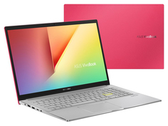 Ноутбук ASUS VivoBook S533EQ-BN143T 90NB0SE2-M02430 (Intel Core i7-1165G7 2.8GHz/16384Mb/512Gb SSD/nVidia GeForce MX350 2048Mb/Wi-Fi/Bluetooth/Cam/15.6/1920x1080/Windows 10 64-bit)