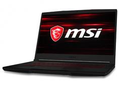 Ноутбук MSI GF63 Thin 9SCSR-1603RU 9S7-16R412-1603 (Intel Core i5-9300H 2.4GHz/8192Mb/512Gb SSD/nVidia GeForce GTX 1650 Ti 4096Mb/Wi-Fi/Bluetooth/Cam/15.6/1920x1080/Windows 10 64-bit)