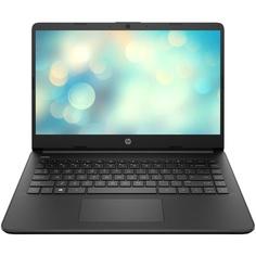 Ноутбук HP 14s-fq0019ur Black (22P65EA)