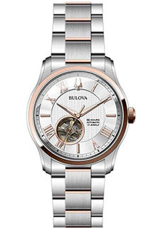 Японские наручные мужские часы Bulova 98A213. Коллекция Automatic