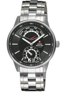 Швейцарские наручные мужские часы Swiss military SM34037.01. Коллекция Classic