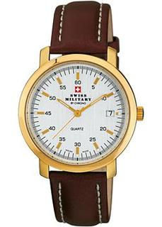 Швейцарские наручные мужские часы Swiss military SM34006.05. Коллекция Vintage