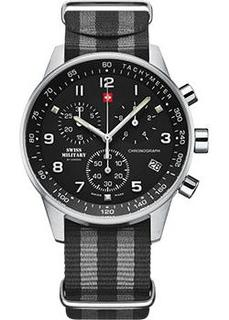 Швейцарские наручные мужские часы Swiss military SM34012.14. Коллекция Minimalist