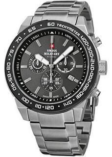 Швейцарские наручные мужские часы Swiss military SM34030.02. Коллекция Sports