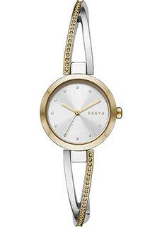 fashion наручные женские часы DKNY NY2924. Коллекция Crosswalk