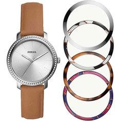 fashion наручные женские часы Fossil BQ3570_SET. Коллекция Lexie Luther