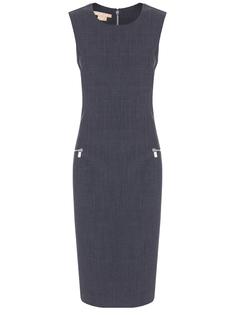 Платье-футляр шерстяное Michael Kors