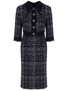 Платье с бахромой Dolce & Gabbana
