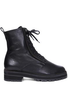 Ботинки кожаные на меху Pertini