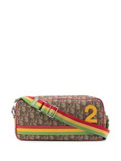 Christian Dior сумка через плечо No.2 Rasta pre-owned с узором Trotter