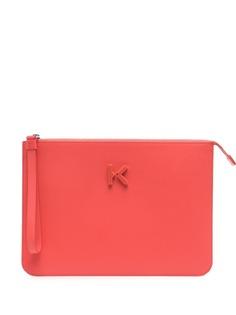 Kenzo клатч с логотипом K