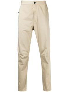 Stone Island брюки чинос с нашивкой-логотипом