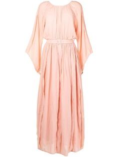 Baruni платье с длинными рукавами и поясом
