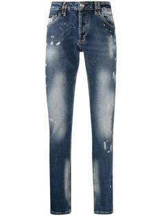 Philipp Plein джинсы Istitutional Super прямого кроя